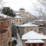 Andritsaina in winter