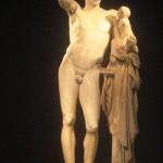 Famous Hermes of Praxiteles Statue