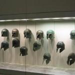 Corinthian style helmets