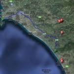 Katakolon – Kaiafas ~42 km (27 miles)